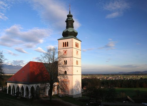 THE CHURCH OF THE ANNUNCIATION OF MARY IN CRNGROB